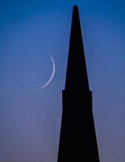 Crescent moon, Transamerica