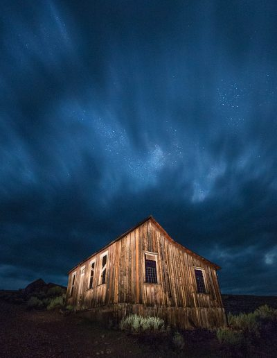 Bodie SHP light-painting